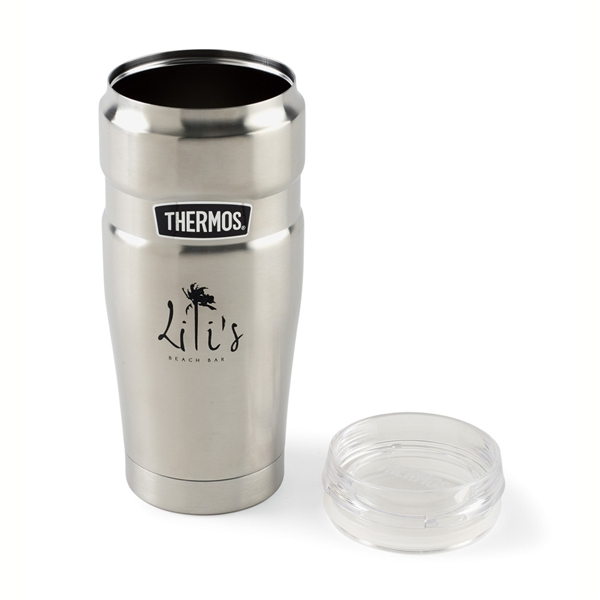 cc726f2c797 Thermos® Stainless King™ Tumbler with 360 Drink Lid 20 Oz   Red Oak ...