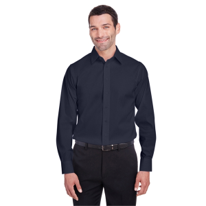 Devon & Jones® Men's Crown Collection™ Stretch Broadcloth Untucked Shirt